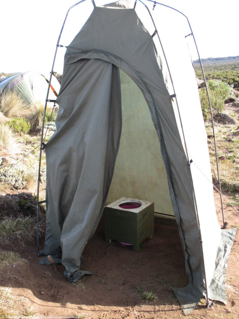 Walk-in height tents are clean and comfortable. & Base Camp Dining u0026 Amenities | Jambo Kilimanjaro
